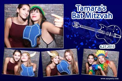 image for homepage of 212photobooths photobooths for bar-mitzvahs and bat-mitzvahs